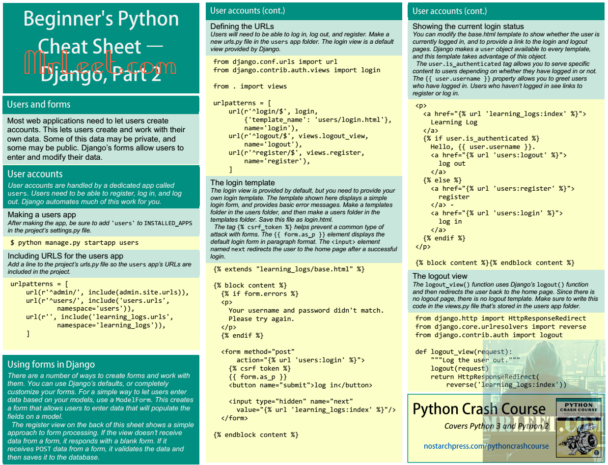 Beginners Python Cheat Sheet Part_26