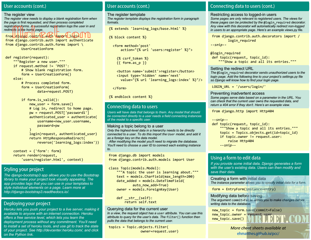 Beginners Python Cheat Sheet Part_27